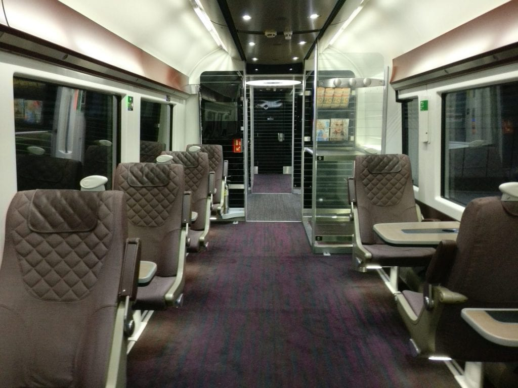 Heathrow Express First Cass