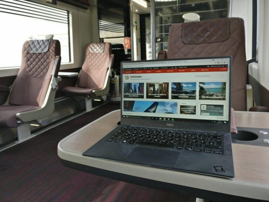 Heathrow Express First Class Laptop