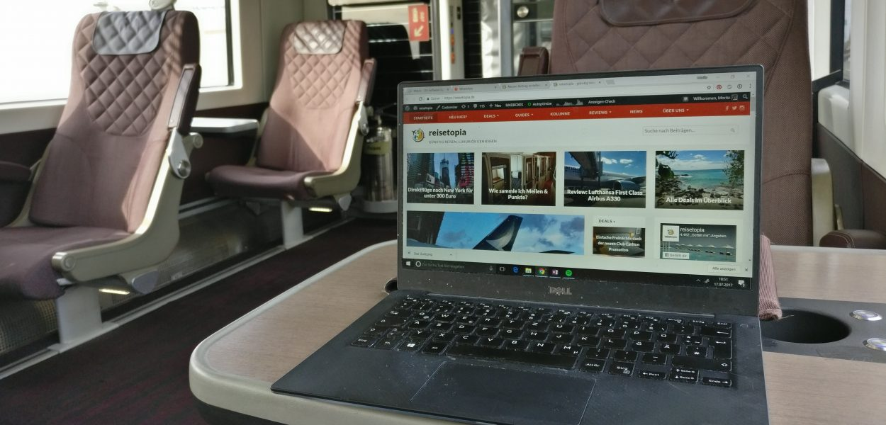 Heathrow Express First Class Laptop
