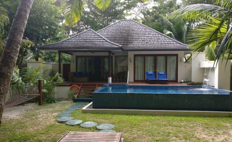 Hilton Seychelles Labriz Resort Deluxe Hillside Pool Villa