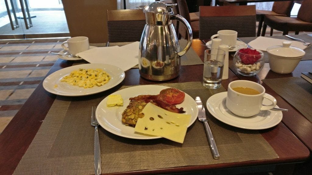 Hotel Pullman Dresden Newa Frühstück