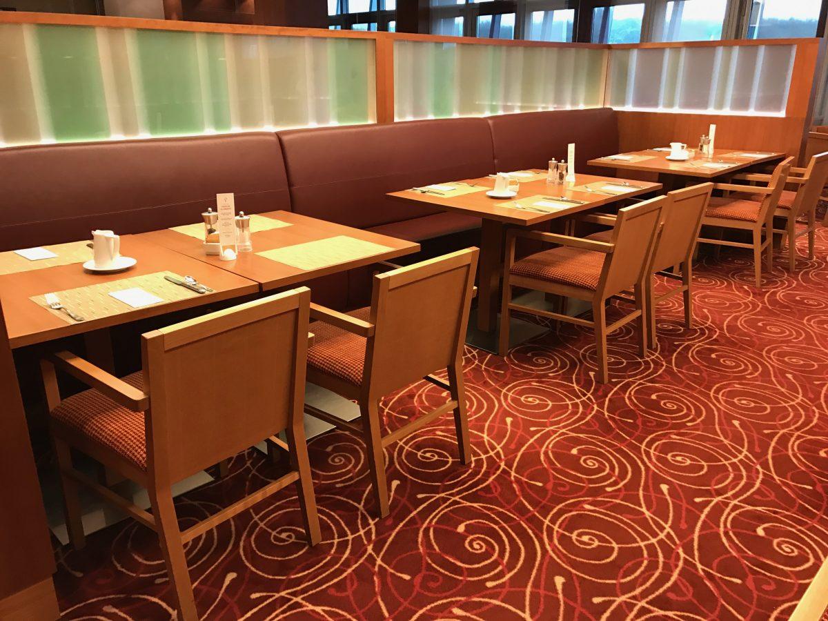 Hilton-Garden-Inn-Frankfurt-Airport-Frühstück-Restaurant