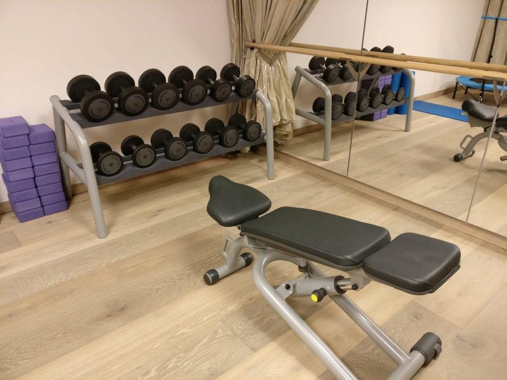 InterContinental Davos Gym 2