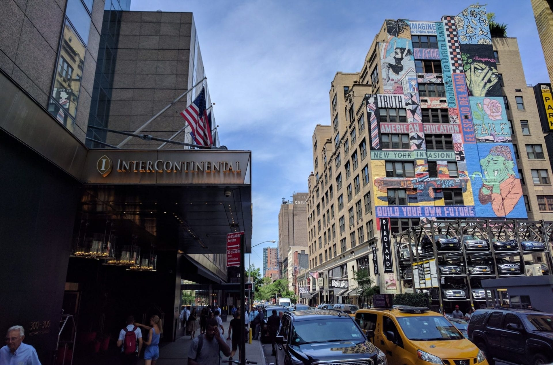 InterContinental New York Streetart