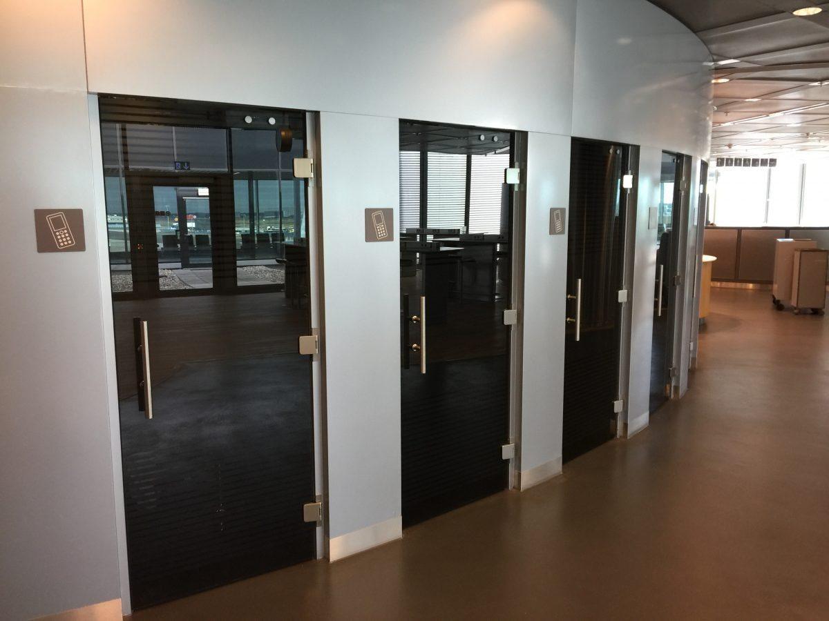 Lufthansa Business Lounge B44 Telefonräume