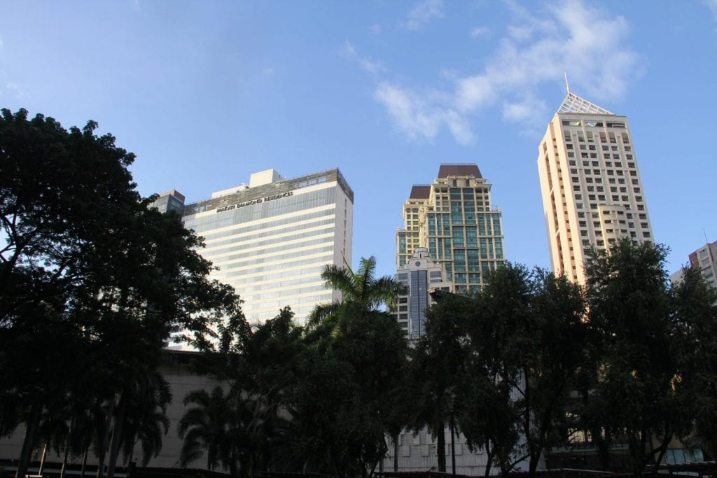 Makati City Skyline 2