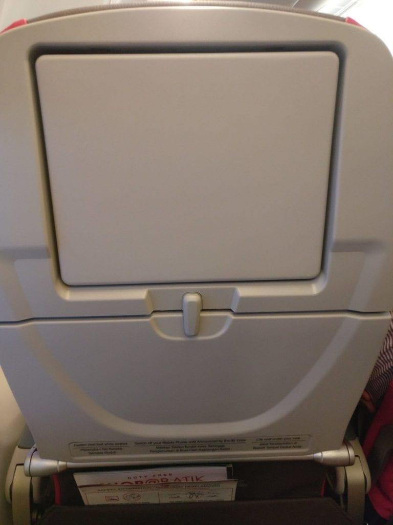 Malindo Air Economy Class Entertainment