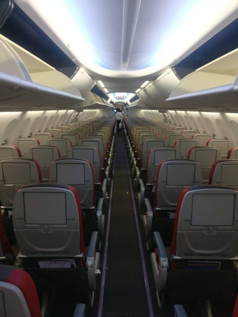 Malindo Air Economy Class Kabine