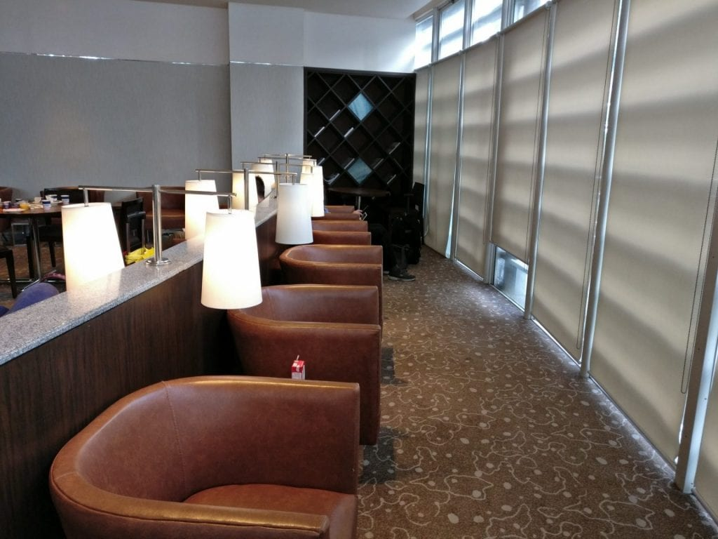 Philippine Airlines Mabuhay Lounge Manila Seating