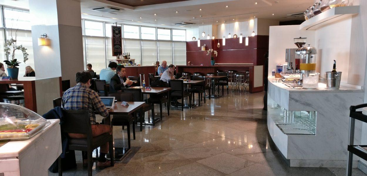 Philippine Airlines Mabuhay Lounge Manila Seating 3