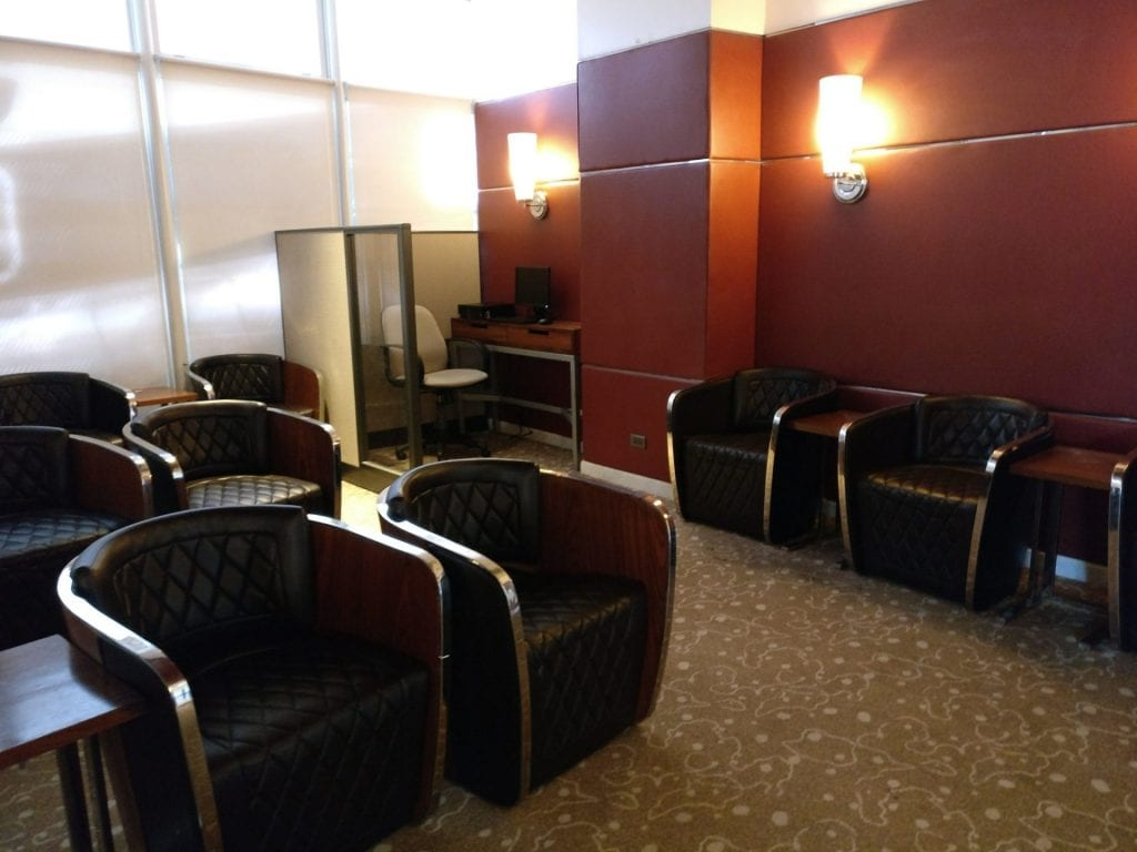 Philippine Airlines Mabuhay Lounge Manila Seating 6