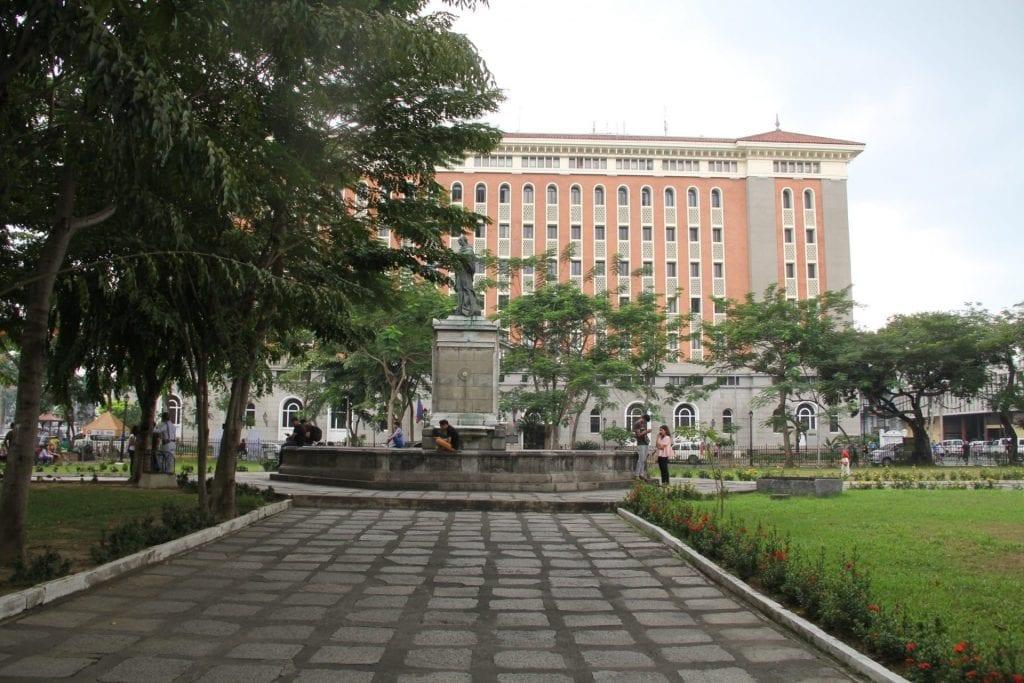 Plaza de Roma Intramuros Manila