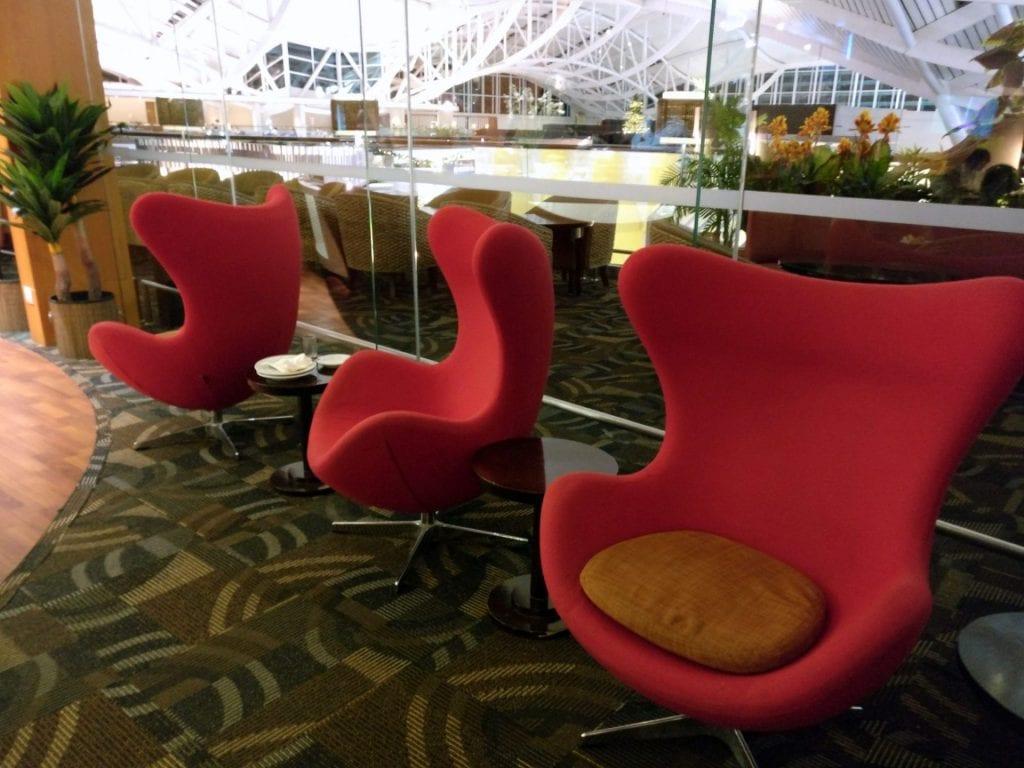 Premier Lounge Denpasar Seating