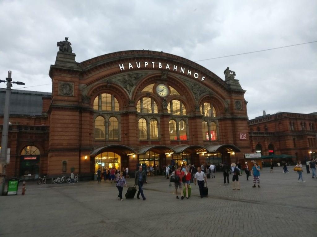 Reiseverrückt Bremen Hauptbahnhof