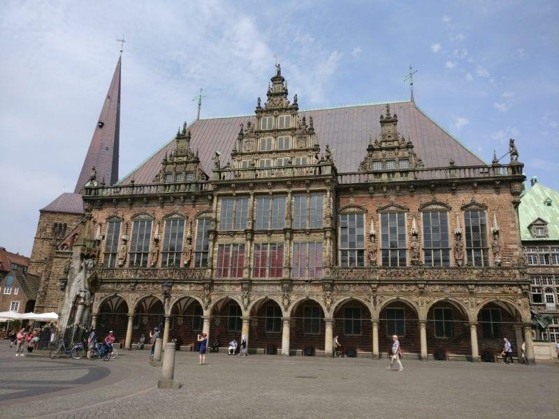Reiseverrückt Bremen Rathaus