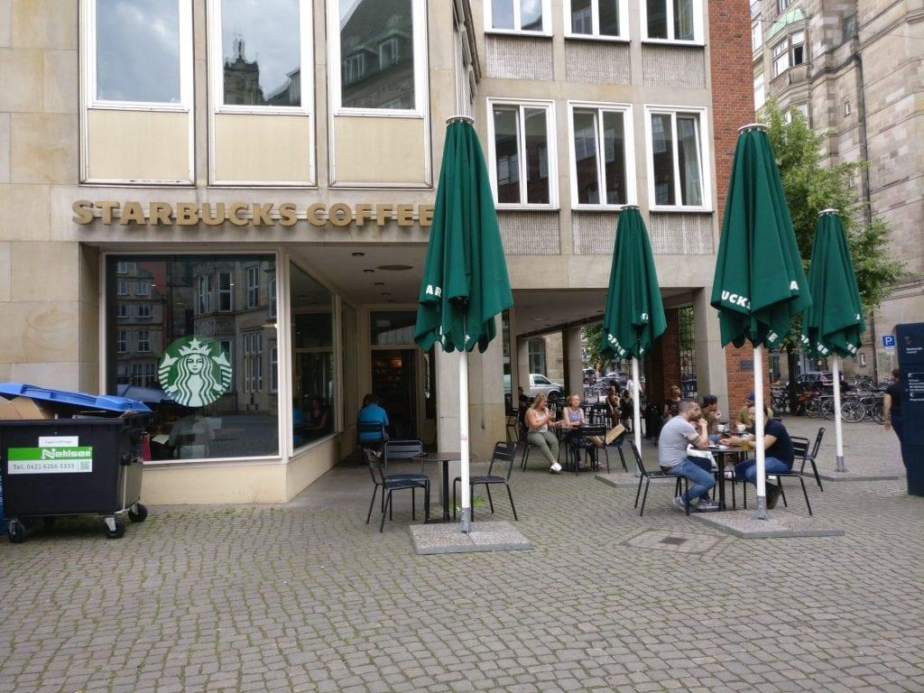 Reiseverrückt Bremen Starbucks