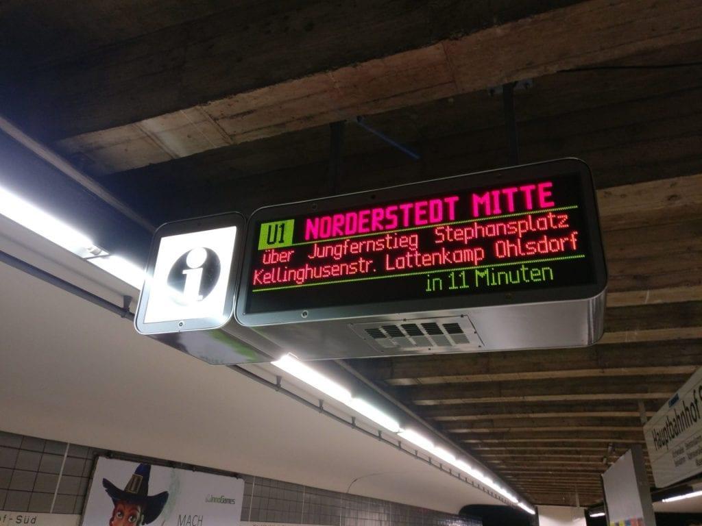 Reiseverrückt Bremen U Bahn