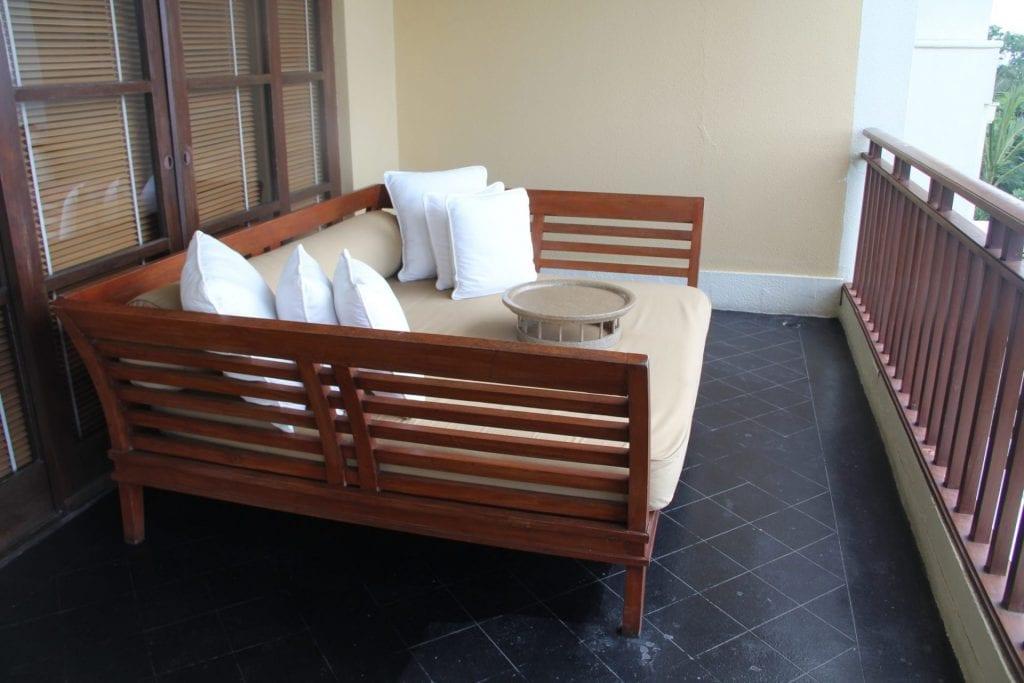 The Legian Bali One Bedroom Suite Balcony