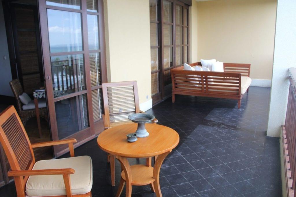 The Legian Bali One Bedroom Suite Balcony 3