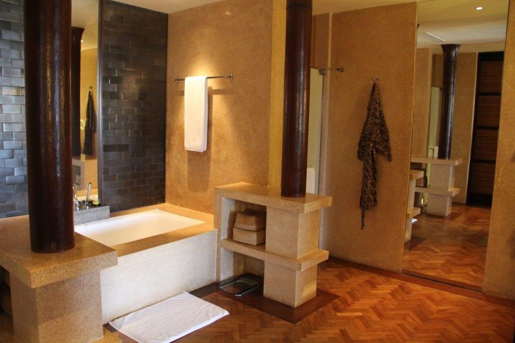 The Legian Bali One Bedroom Suite Bathroom