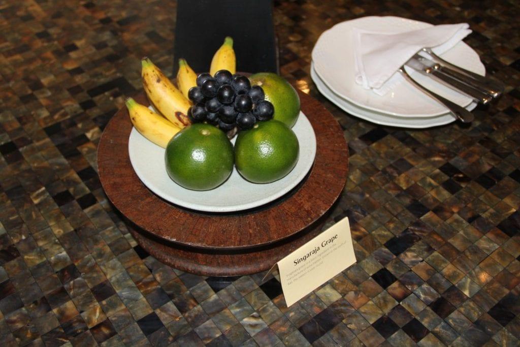 The Legian Bali Welcome Fruit