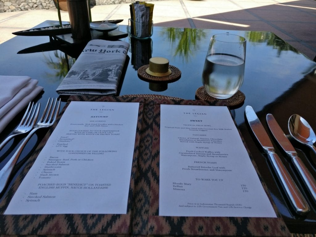 The Legina Bali Breakfast 2