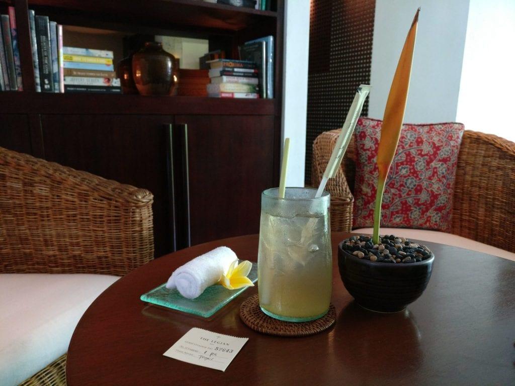 The Legina Bali Welcome Drink