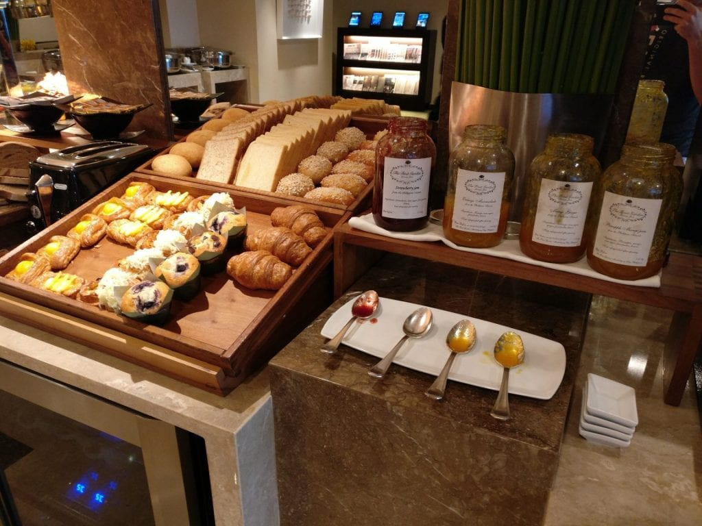 The Peninsula Manila Club Lounge Breakfast