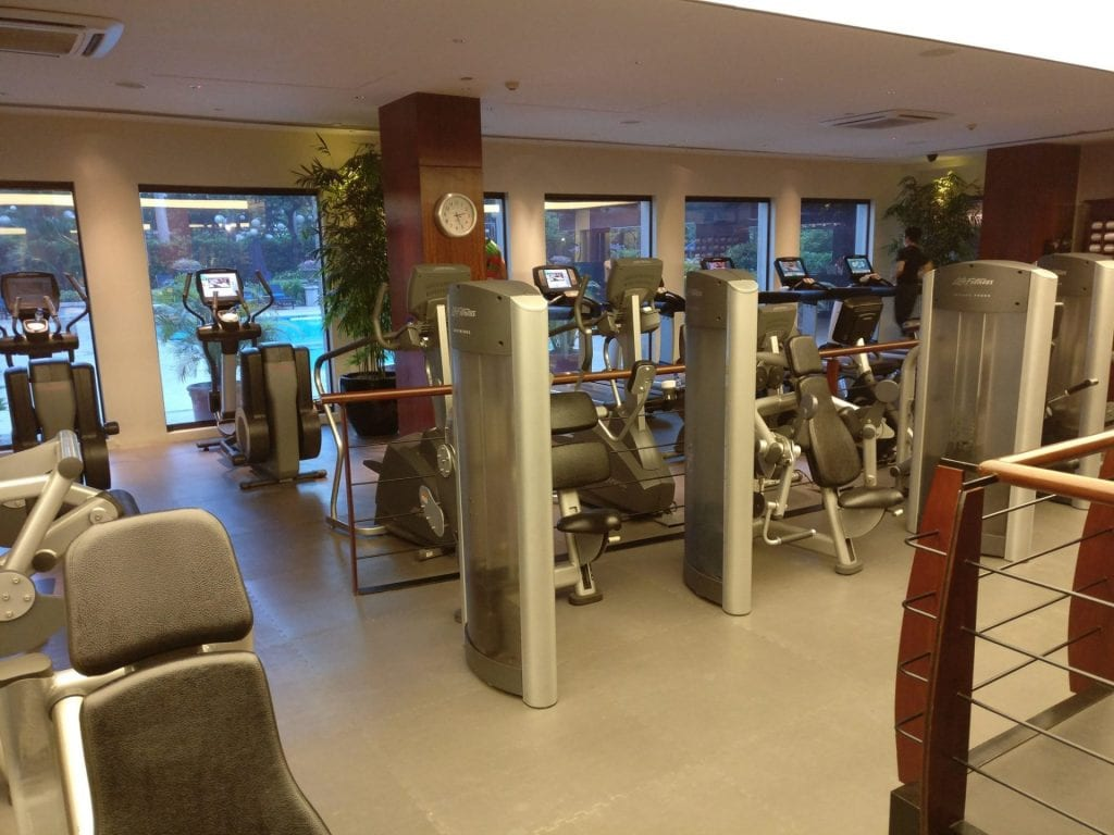 The Peninsula Manila Gym