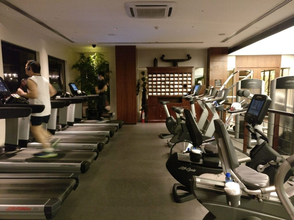 The Peninsula Manila Gym 3