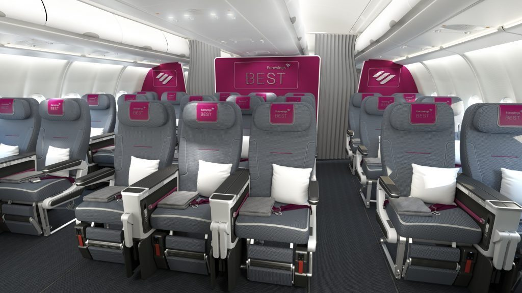 eurowings best kabine 300