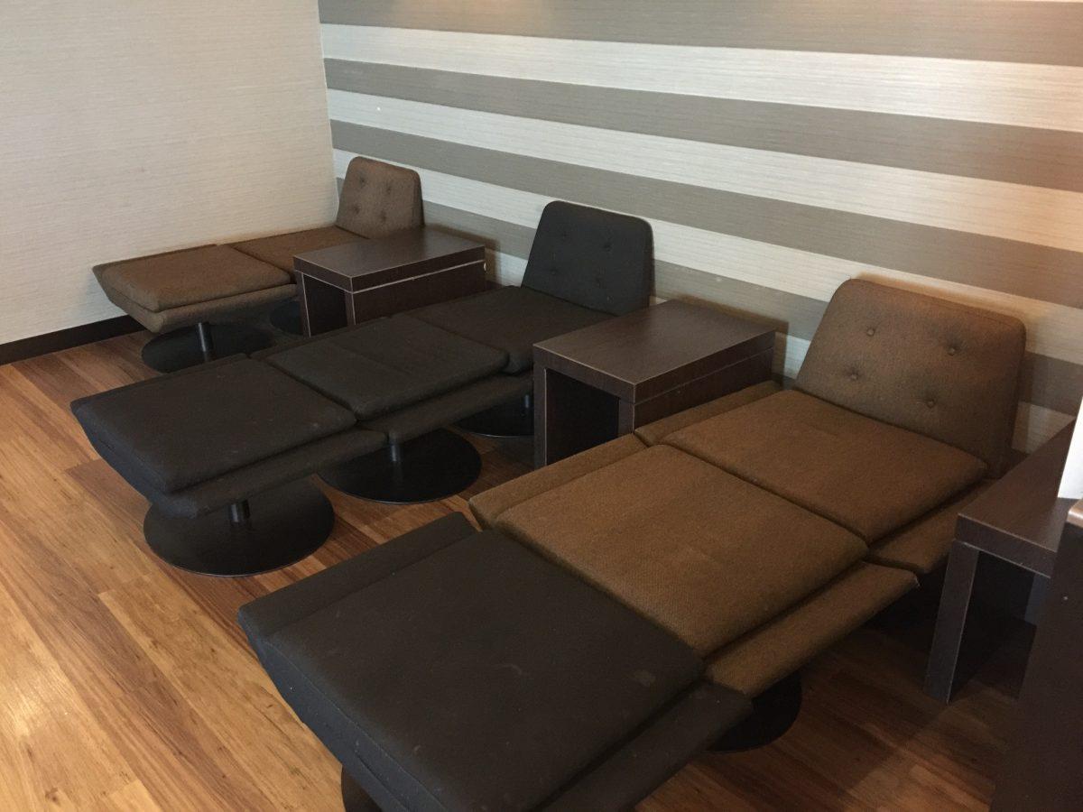 Aspire Lounge Manchester Airport Ruhebereich