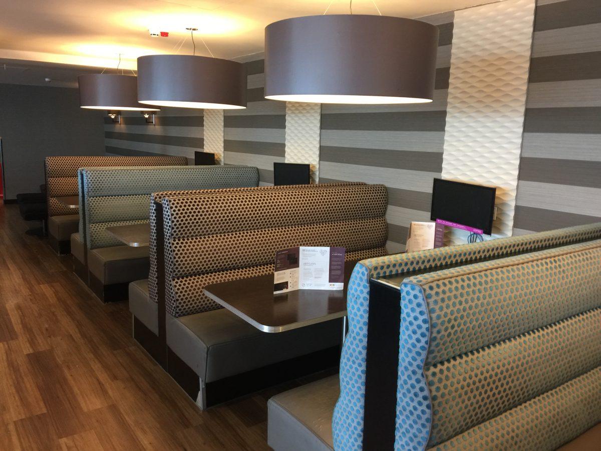 Aspire Lounge Manchester Airport Sitzbereich