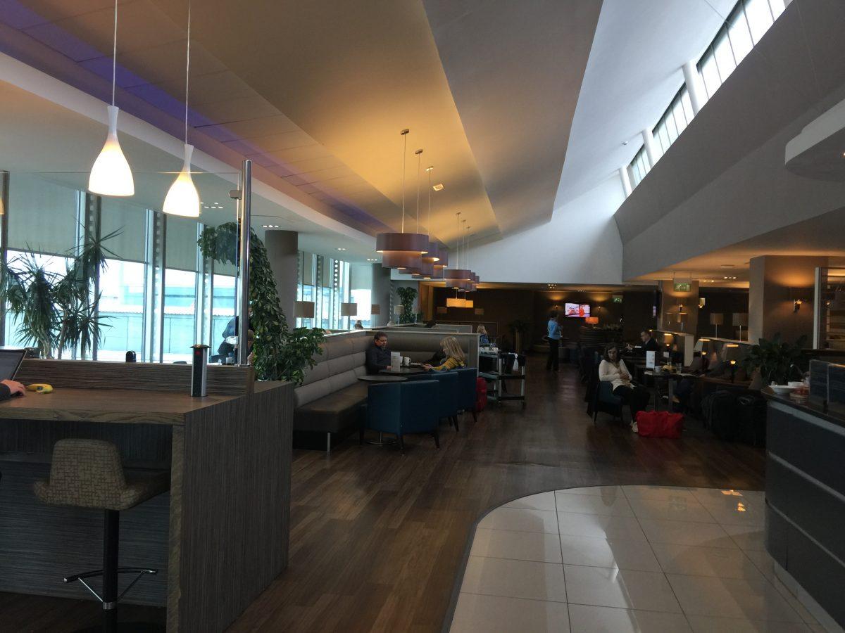 Aspire Lounge Manchester Airport Sitzgelegenheiten 1