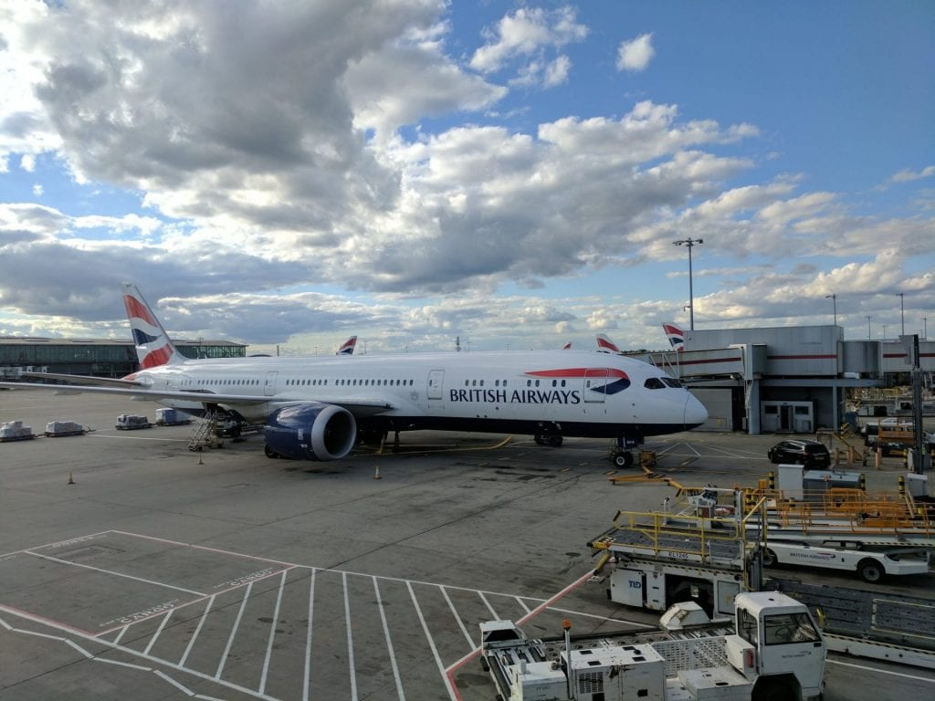 British Airways Boeing 787 London Heathrow