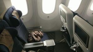 British Airways Premium Economy Boeing 787 Traveller Plus Beinfreiheit