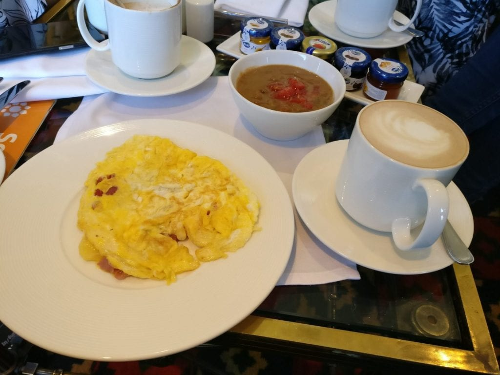 Conrad Cairo Executive Lounge Breakfast 4