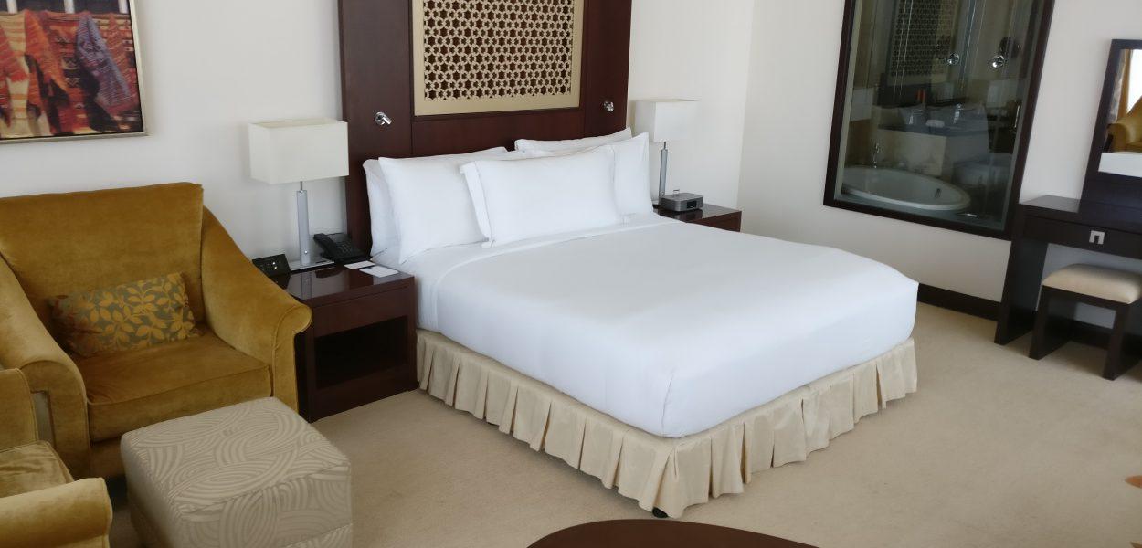 Conrad Dubai Deluxe Corner Room
