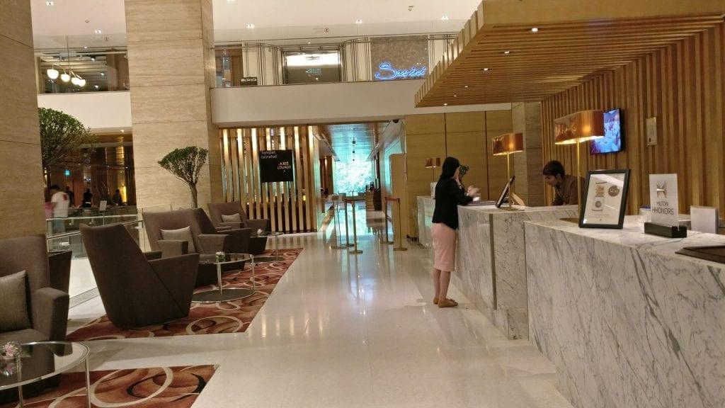 DoubleTree Kuala Lumpur Check In
