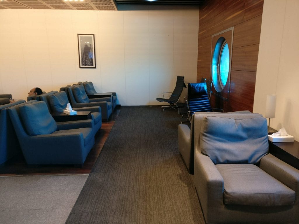 Egypt Air Lounge Cairo Seating 3