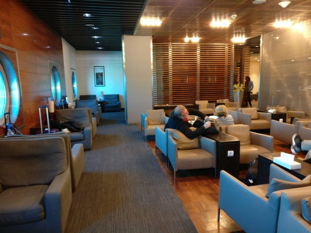 Egypt Air Lounge Cairo Seating 4
