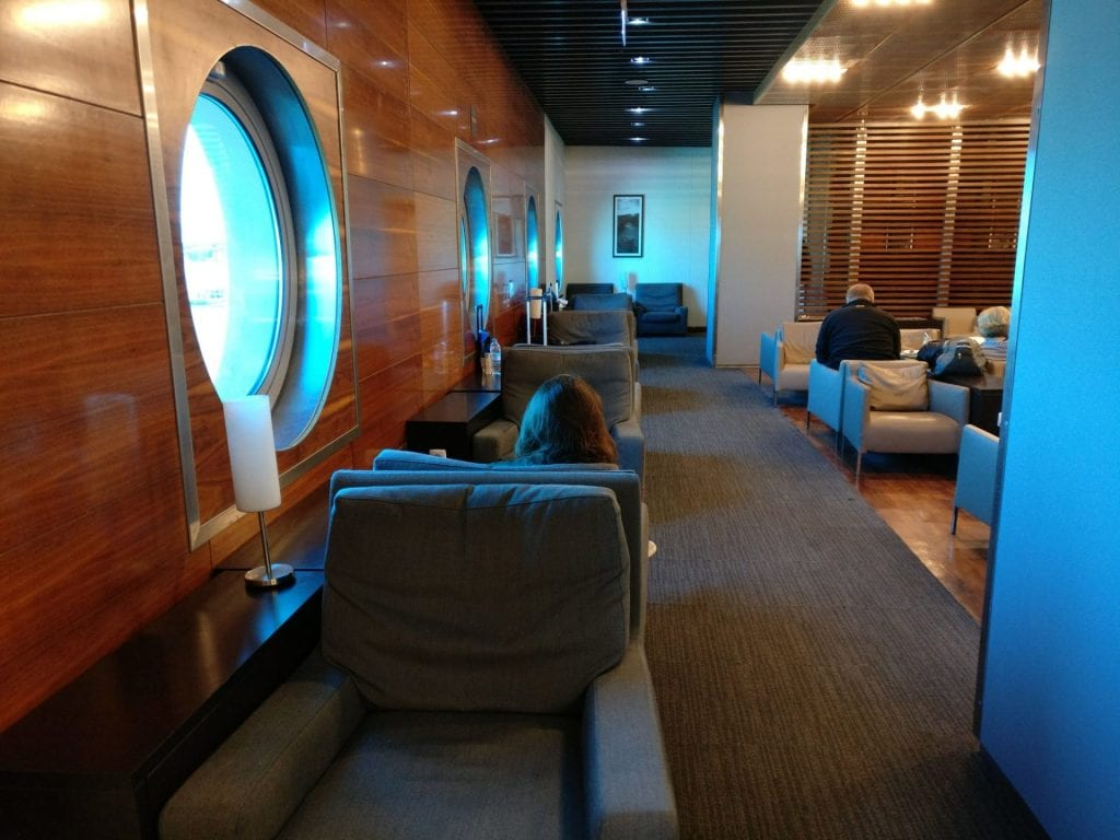 Egypt Air Lounge Cairo Seating 5