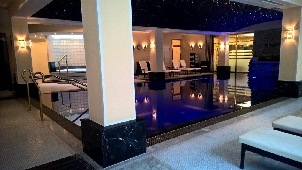 Grandhotel Schloss Bensberg Pool 2
