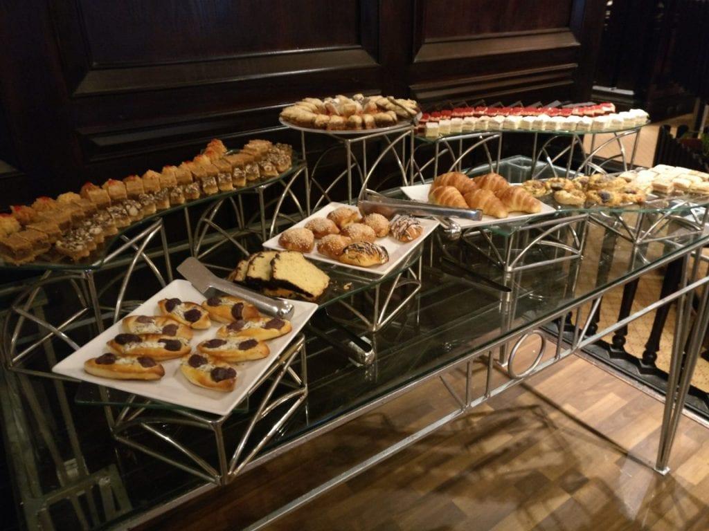 Hilton Alexandria Corniche Executive Lounge Snacks