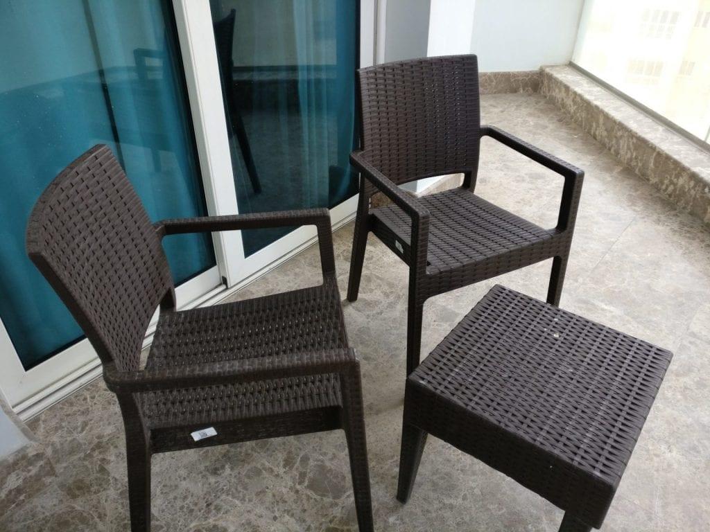 Hilton Alexandria Corniche Mediterranean Suite Balcony