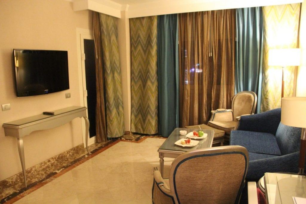 Hilton Alexandria Corniche Mediterranean Suite Living Room 7