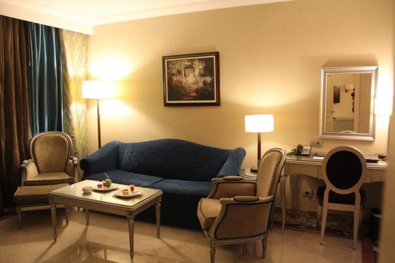 Hilton Alexandria Corniche Mediterranean Suite Living Room