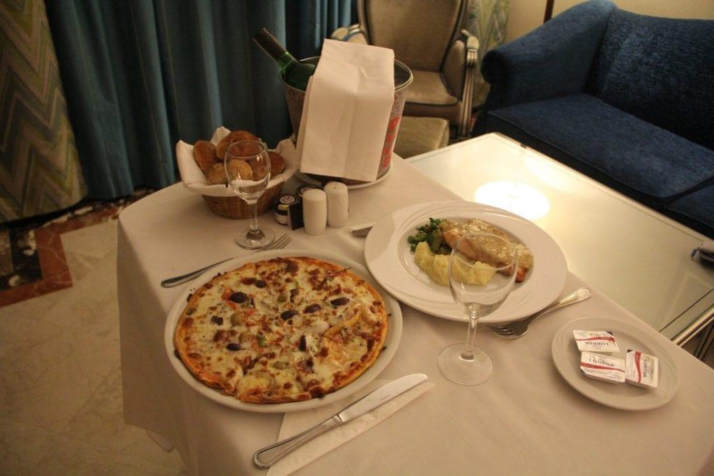 Hilton Alexandria Corniche Room Service