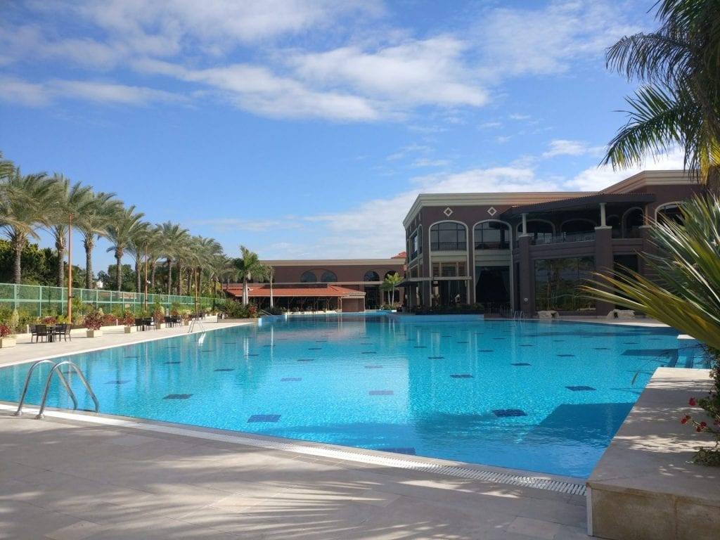 Hilton Alexandria King's Ranch Outdoor Pool 2