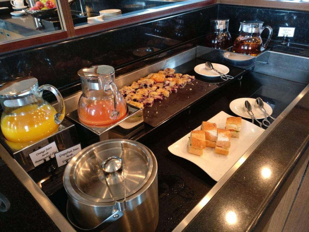 Hilton Prague Old Town Executive Lounge Afternoon Tea